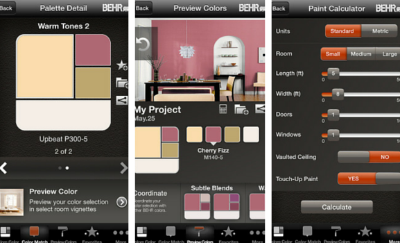 5 Paint Apps To Make Your Home Project Easier