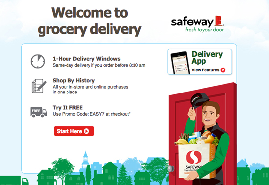 You can save time with a grocery delivery service like Safeway grocery delivery.
